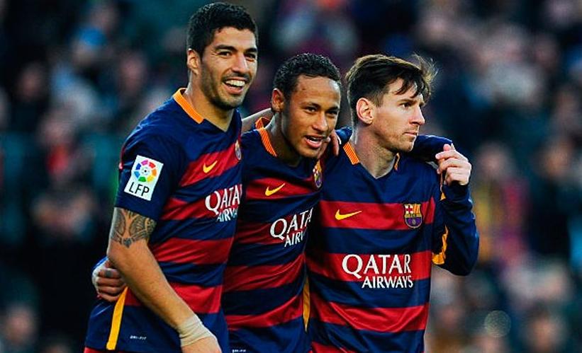 Messi, Suarez và Neymar
