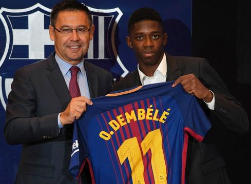 Ousmane Dembele tại Barcelona
