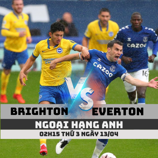 ty le keo brighton vs everton