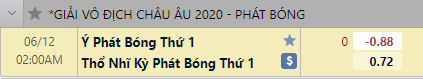 phat bong keo tho nhi ky vs y soikeo79
