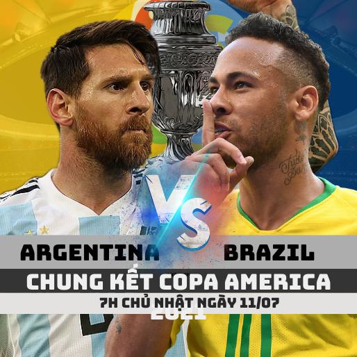 argentina vs brazil chung ket copa america 2021 soikeo79