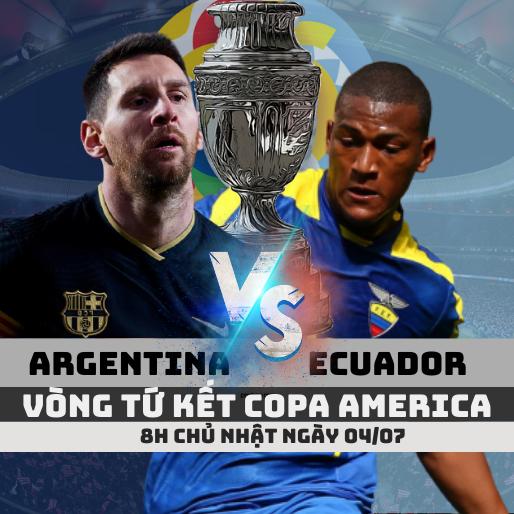 argentina vs ecuador copa america soikeo79