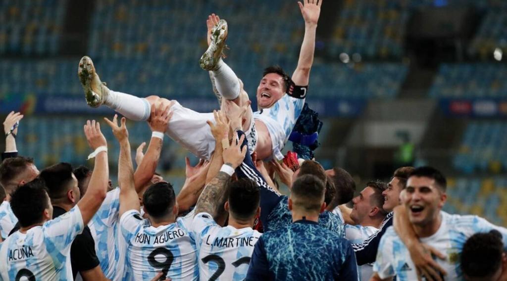messi va argentina copa america 2020-2