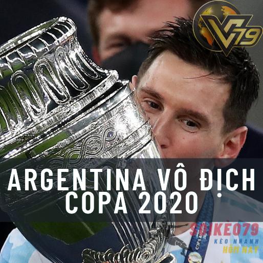 messi va argentina copa america 2020