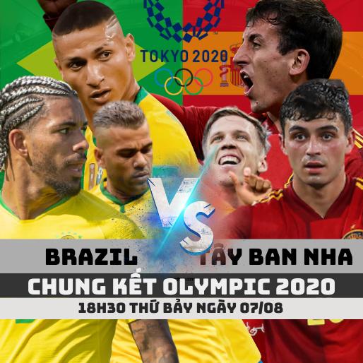 brazil vs tay ban nha chung ket olympic 2020